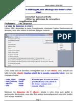 Utilisation du contrôle MSFlexgrid pour affichage des données d