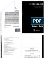 Dahl, La Democracia Cap.iv, V y VI, Pp. 45-93