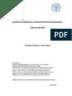 Quadro Estrátegico Desenvolvimento Aquacultura - Cabo Verde Out 2010