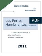 Monografia de LOS PERROS HAMBRIENTOS