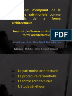 patimoine architectural