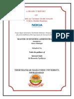Gaurav Project of NOKIA