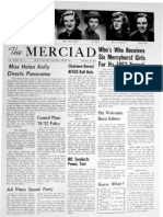 The Merciad, Oct. 18, 1951