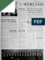 The Merciad, April 1, 1952