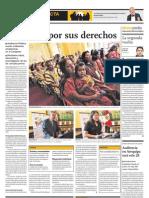 DEMOCRACIA EN ACCIÓN Audiencia en Arequipa será este 28