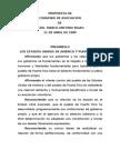 Propuesta de Convenio de Asociación de Marco Antonio Rigau 1989