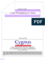 Food Processing in India_Synopsis TOC