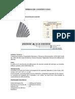 FIERROS DE CONSTRUCCION