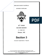 Synod Papers, Section 3