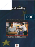 Manual Handling Guidance Note L23-1992