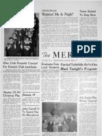 The Merciad, Dec. 15, 1954