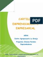 Cartilla Emprendimiento - Regional Tolima
