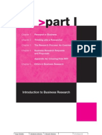 Business Research Methods Chapter01