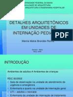 Internação Pediátrica - Márcia Brandão