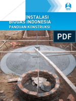 Biogas Fixed Dome Construction Manual