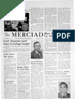 The Merciad, Dec. 19, 1956
