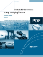 The State of Sustainable Investment in Key Emerging Markets