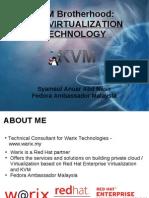 KVM Virtualization Technology