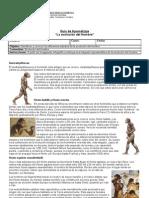 Infografia Evolucion Del Hombre