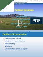 Wind Turbine Dynamica, NREL, 2008