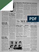The Merciad, Nov. 4, 1960