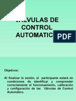 Válvulas de Control Automático