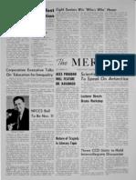 The Merciad, Nov. 8, 1961