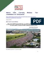 MICM Ser Ciudadano en Venezuela ImpactoCNA 14 May 2011