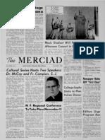The Merciad, Nov. 9, 1962