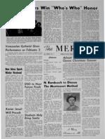 The Merciad, Dec. 14, 1962