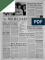 The Merciad, Dec. 18, 1963