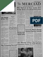 The Merciad, April 23, 1964