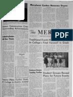 The Merciad, May 19, 1964
