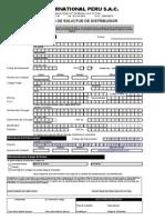 Formulario de Inscripcion DXN Peru