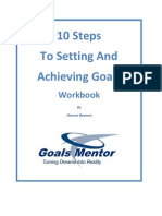 10 Steps to Setting and Achieving Goals