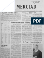 The Merciad, Oct. 27, 1969