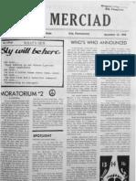The Merciad, Nov. 12, 1969