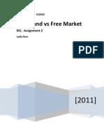 Free vs Command Economy