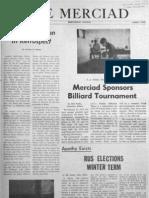 The Merciad, Jan. 15, 1971