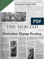 The Merciad, Feb. 26, 1971