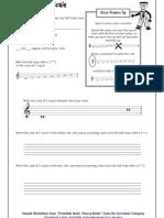 07 C Major Scale Worksheet