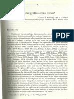 Las etnografías como textos