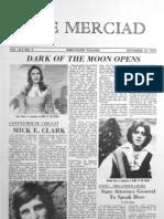 The Merciad, Nov. 10, 1972