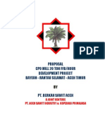 East Aceh Palm Oil Project