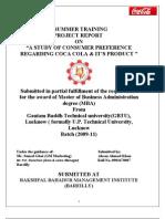 Project of Coca -Cola1