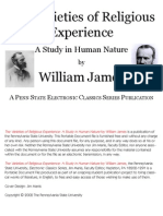 Variety of Religious Experience - William James