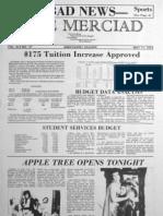 The Merciad, May 11, 1973