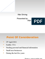 War Driving
