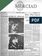 The Merciad, Nov. 9, 1973