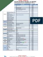 Brosur Price List Per Item (Harga Baru)